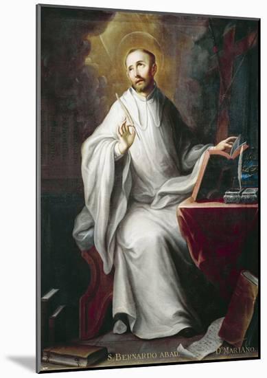St Bernard-Miguel Cabrera-Mounted Giclee Print