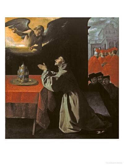St. Bonaventura-Francisco de Zurbar?n-Giclee Print