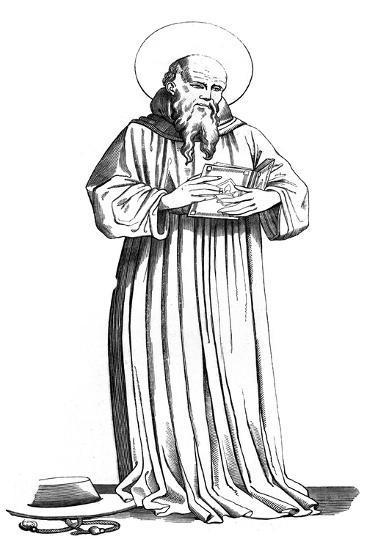 St Bonaventure, (1221-127), 15th Century-Jean Fiesole-Giclee Print