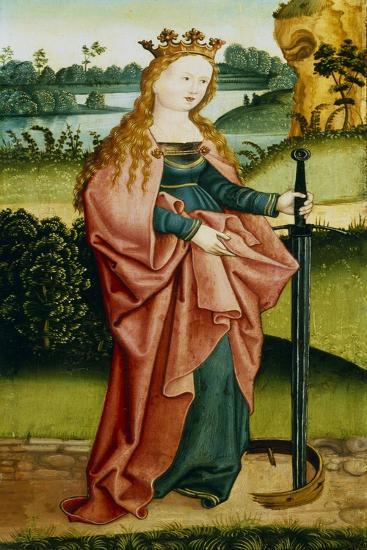 St Catherine of Alexandria, C1500--Giclee Print