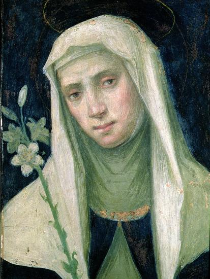 St. Catherine of Siena-Fra Bartolommeo-Giclee Print
