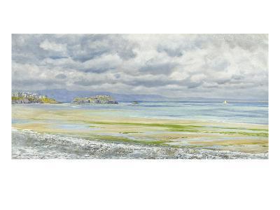 St. Catherine's Isle, 1879-John Brett-Premium Giclee Print