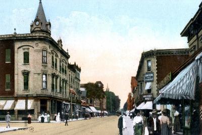St Catherine Street, Montreal, Canada, C1900s--Giclee Print