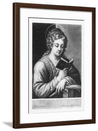 St. Catherine-Correggio-Framed Giclee Print