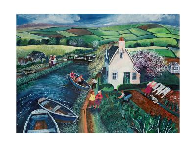St Catherines Lock-Lisa Graa Jensen-Giclee Print