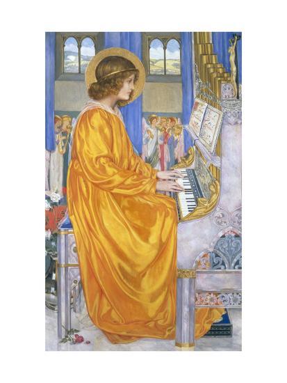 St Cecilia-Kate Elizabeth Bunce-Giclee Print