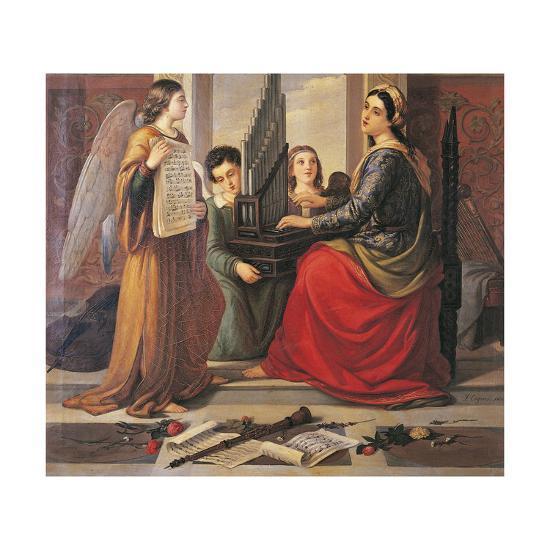 St Cecilia-Francesco Cogorno-Giclee Print