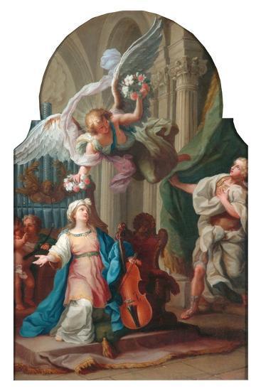 St Cecilia-Luigi Vanvitelli-Giclee Print