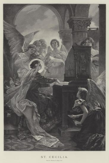 St Cecilia--Giclee Print