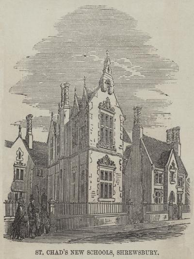 St Chad's New Schools, Shrewsbury--Giclee Print