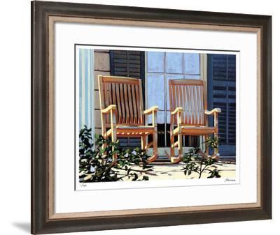 St Charles Ave-Tom Swimm-Framed Giclee Print