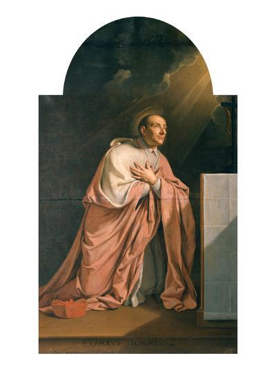 St. Charles Borromeo (1538-84)-Philippe De Champaigne-Giclee Print