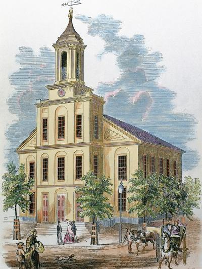St. Charles' Church. Boston, Massachusetts, Usa-Prisma Archivo-Photographic Print