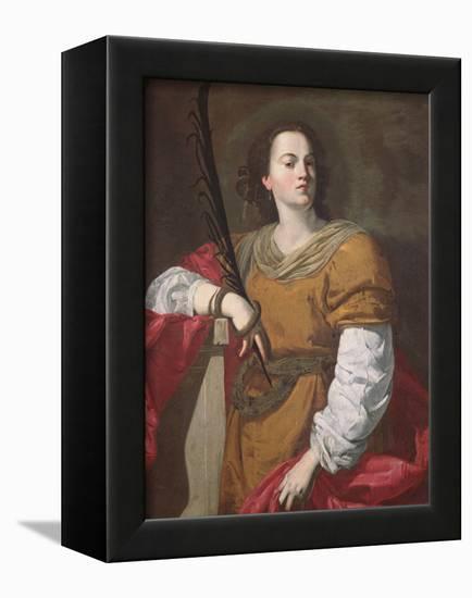 St. Christina the Astonishing, 1637-Francesco Guarino-Framed Stretched Canvas Print