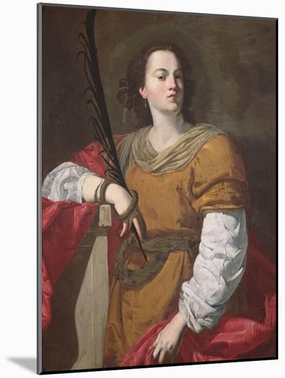 St. Christina the Astonishing, 1637-Francesco Guarino-Mounted Premium Giclee Print