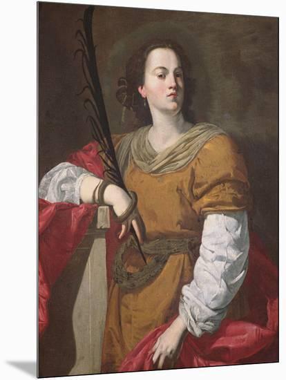 St. Christina the Astonishing, 1637-Francesco Guarino-Mounted Giclee Print