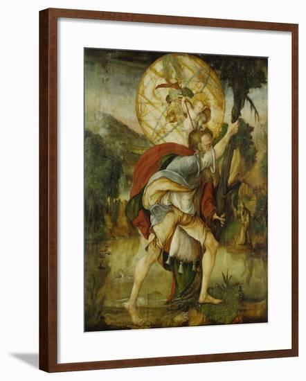 St, Christopher--Framed Giclee Print