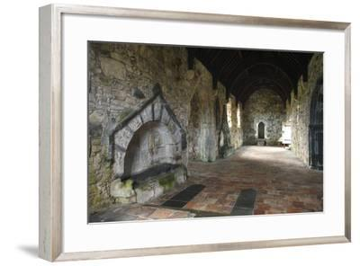 St Clements Church, Rodel, Isle of Harris, Outer Hebrides, Scotland, 2009-Peter Thompson-Framed Photographic Print
