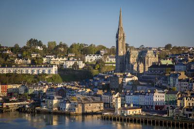 St. Coleman Church and Harbor Town of Cobh, County Cork, Ireland-Brian Jannsen-Photographic Print