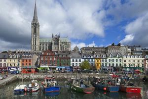 St Coleman's Cathedral from the Harbour, Cobh,County Cork, Ireland
