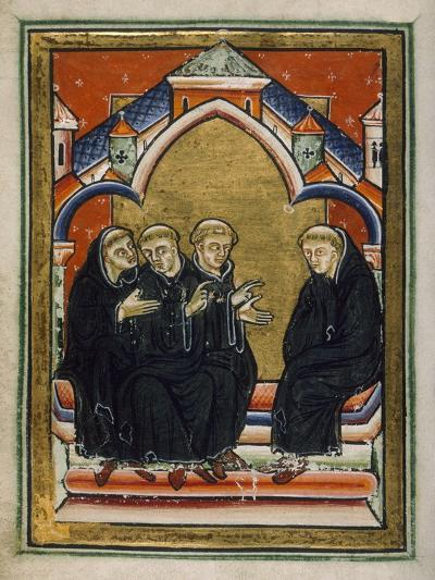 St. Cuthbert Elected Bishop--Giclee Print