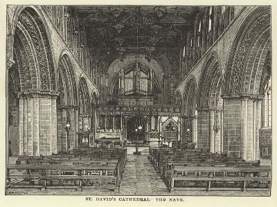 St David's Cathedral, the Nave--Giclee Print