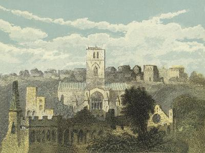 St David's Cathedral, View from the Ancient Bishop's Palace--Giclee Print