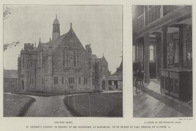 St Deiniol's Library--Giclee Print