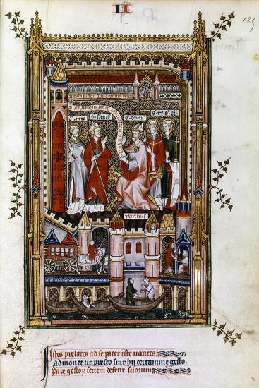 St Denis, 1317--Giclee Print