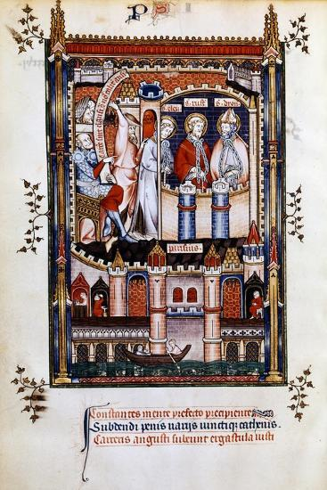 St Denis in Chains, 1317--Giclee Print