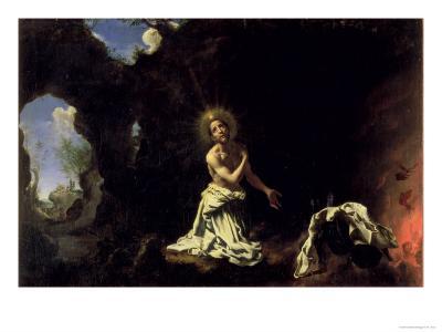 St. Dominic Penitent-Carlo Dolci-Giclee Print