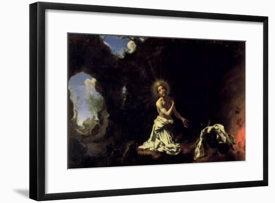 St. Dominic Penitent-Carlo Dolci-Framed Giclee Print