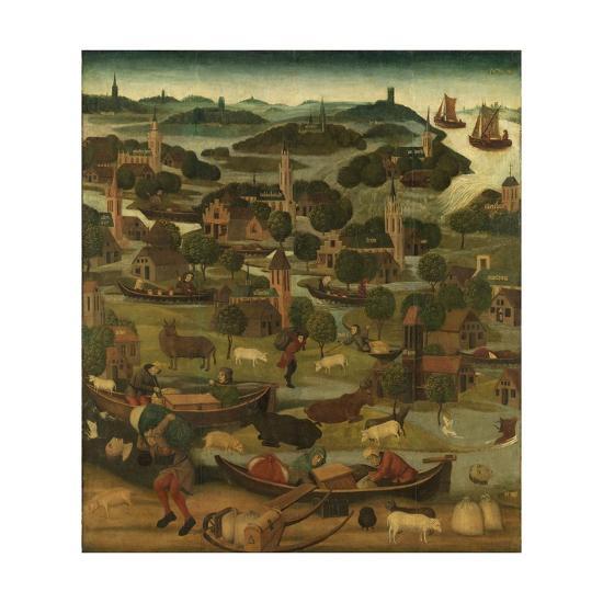 St Elizabeth Flood by Master of the Holy Elisabeth Panels C.1490-5--Giclee Print