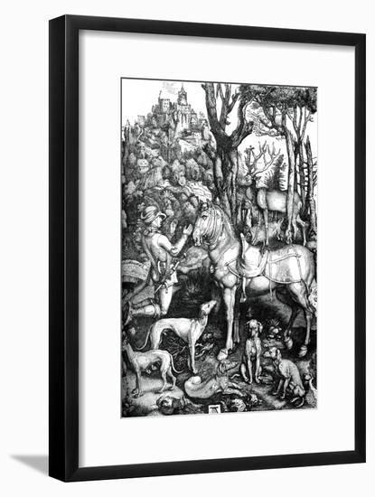 St Eustace, C1501-Albrecht Durer-Framed Giclee Print