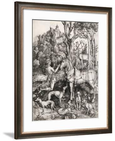 St. Eustace-Albrecht Dürer-Framed Giclee Print