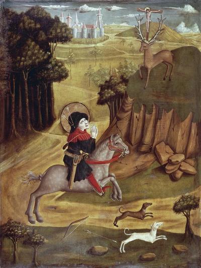 St Eustachio and Deer--Giclee Print