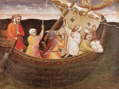 St. Fina Saving the Fishermen-Lorenzo di Niccolo Gerini-Giclee Print