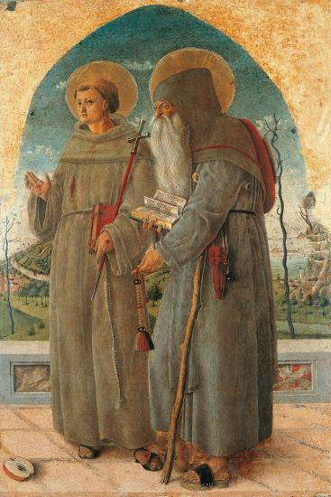 St. Francis and St. Anthony Abbot-Schiavone Chiulinovich-Art Print
