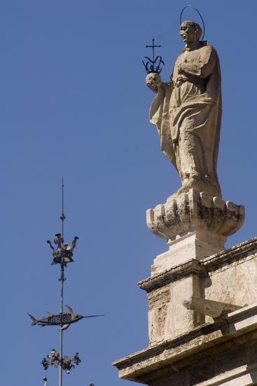 St Francis Borgia--Photographic Print