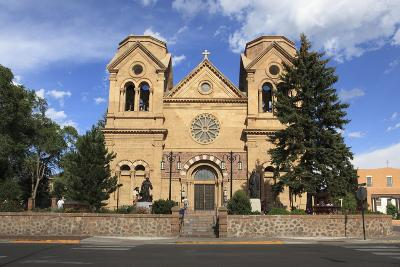St. Francis Cathedral (Basilica of St. Francis of Assisi), Santa Fe, New Mexico, Usa-Wendy Connett-Photographic Print