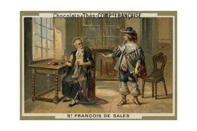 St Francis De Sales--Giclee Print