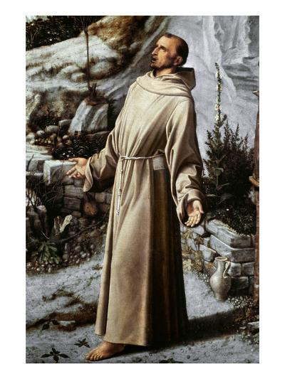 St. Francis Of Assisi-Giovanni Bellini-Giclee Print