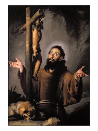 St. Francis-Bernardo Strozzi-Giclee Print