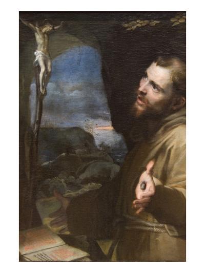 St. Francis-Federico Barocci-Art Print