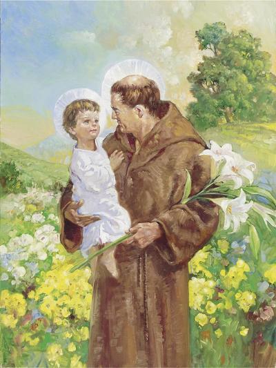 St Francis-Hal Frenck-Giclee Print