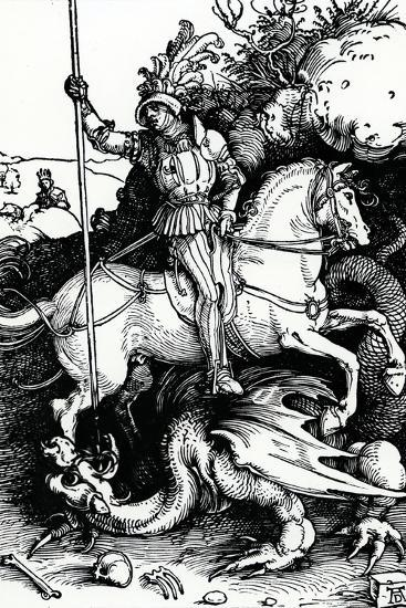 St. George and the Dragon, 1504-Albrecht D?rer-Giclee Print