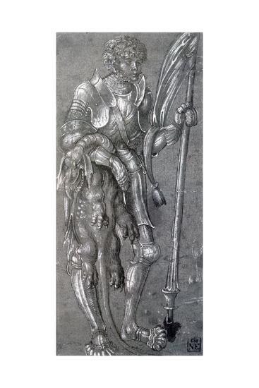 St George, C1504-1553-Lucas Cranach the Elder-Giclee Print