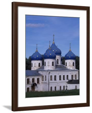 St George's Cathedral in Yuriev Monastery--Framed Photographic Print