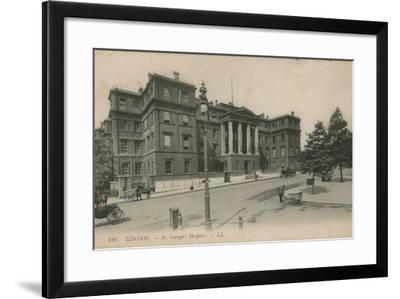 St George's Hospital, London--Framed Photographic Print
