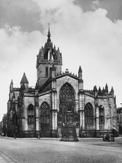 St. Giles Cathedral--Photographic Print